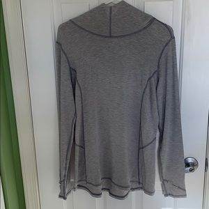 Long sleeve gray pullover size medium